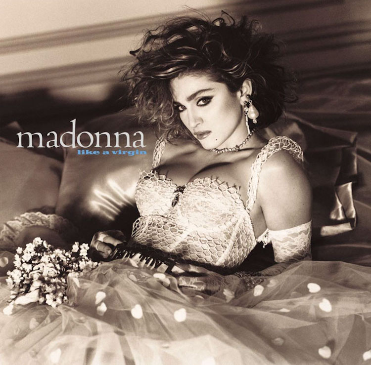 Madonna Album Cover Recreations by Vincent Flouret