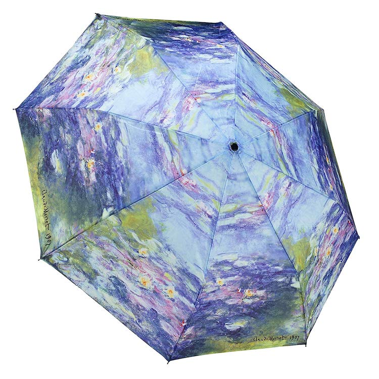 Impressionism Gifts Monet Umbrella