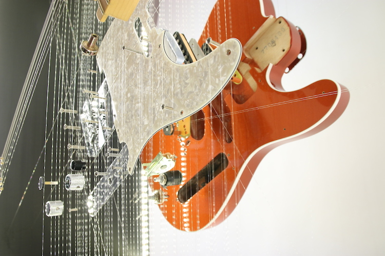 John A. Peralta Deconstructed Fender Guitar