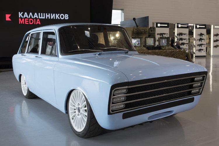 Kalashnikov Electric Car Concept