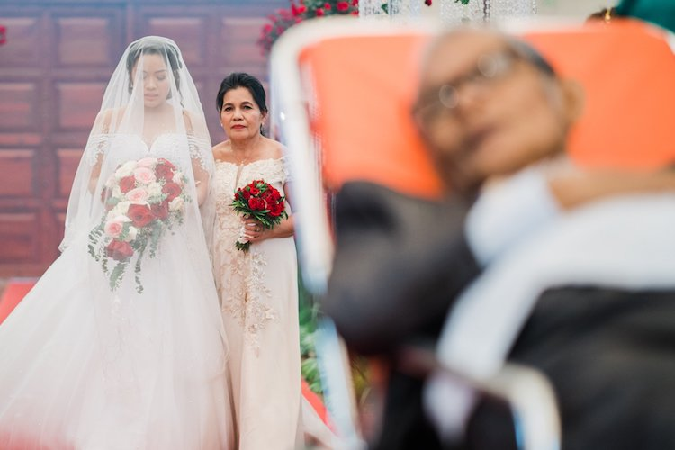 A Father's Love Law Tapalla Terminally Ill Father Walking Down the Aisle