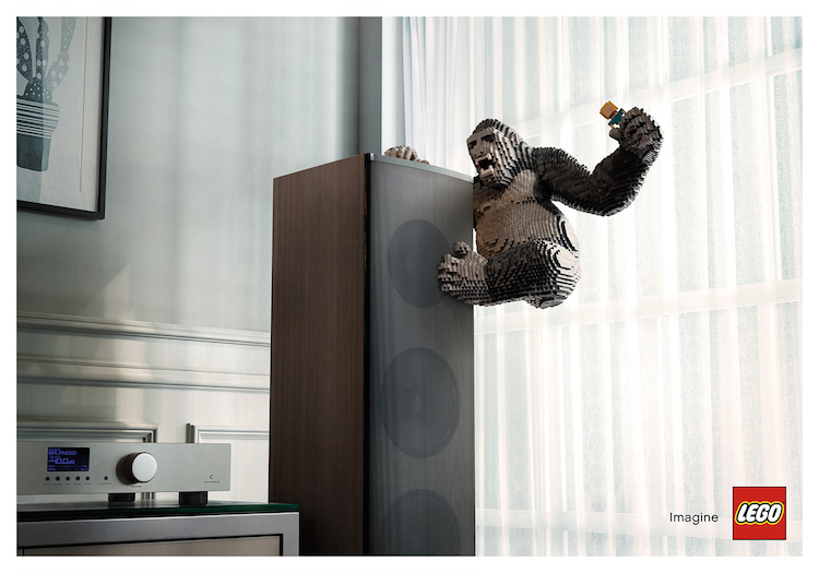 LEGO Ad Campaigns by Asawin Tejasakulsin