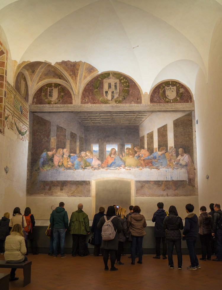 Leonardo da Vinci Last Supper The Last Supper Painting