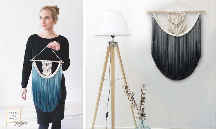 Modern Macrame by Teddy and Wool