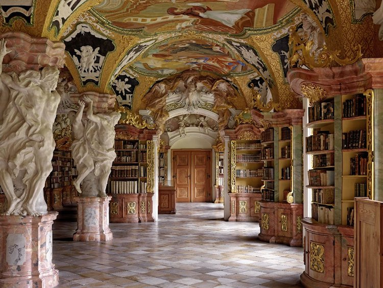 Klosterbibliothek Metten, Metten, Germany