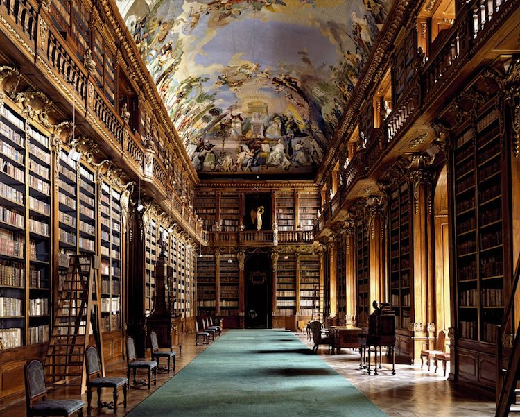 Strahovská Knihovna, Prague, Czech Republic