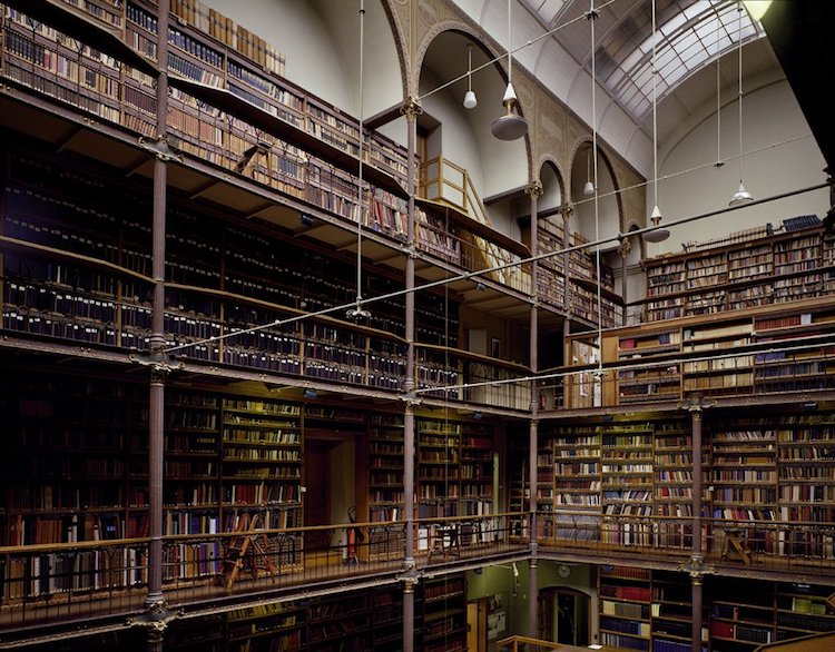 Rijksmuseum, Research Library, Amsterdam, The Netherlands