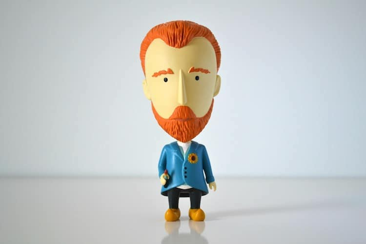 Claude Monet Action Figure Today is Art Day Art History Heroes