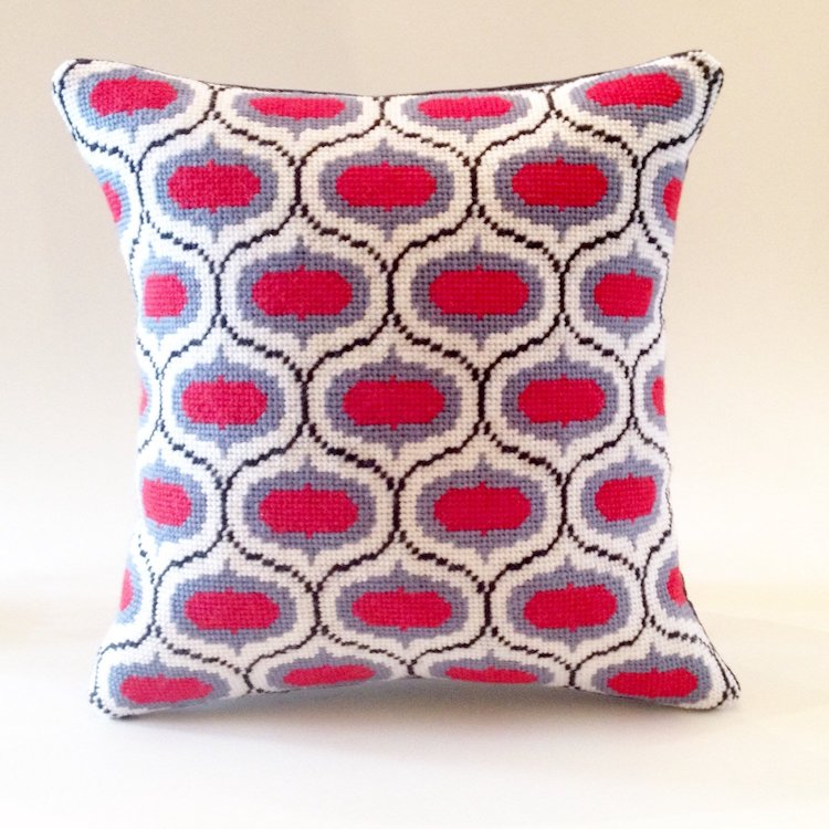 Modern Needlepoint Pillow Kit
