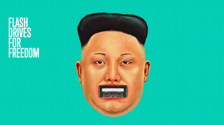 USB Drives North Korea Flash Drives for Freedom