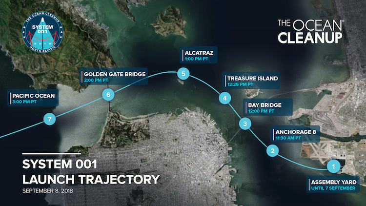 Ocean Cleanup Launch