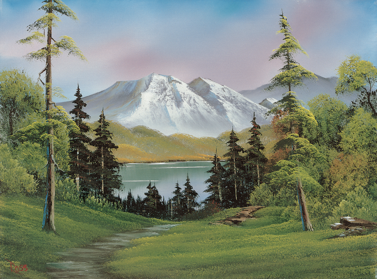 Painting with Bob Ross Painting Supplies Bob Ross Book