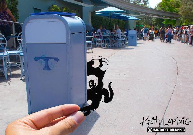Paper Art Disneyland Paper Cutouts by Keith Lapinig
