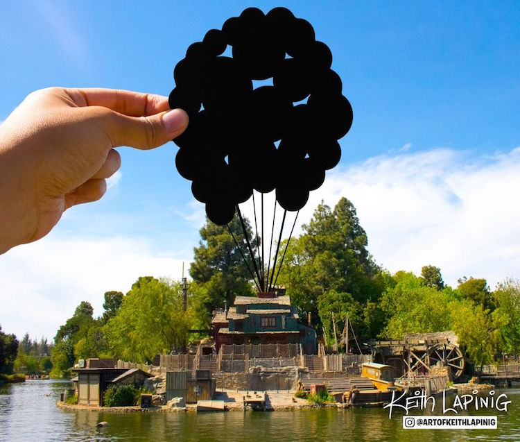 Paper Art Disneyland Paper Cutouts by Keith Lapinig