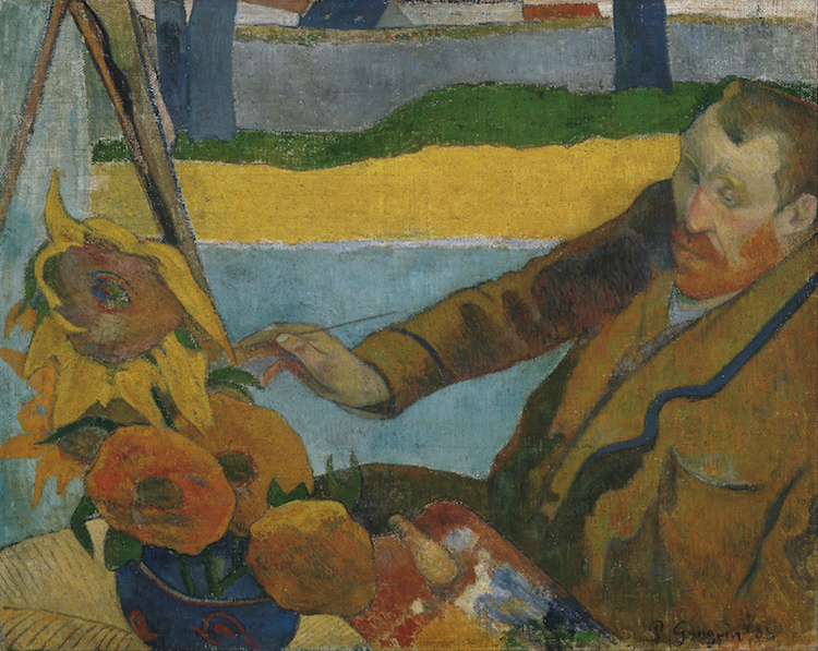 Paul Gauguin Paintings Post-Impressionism Van Gogh and Gauguin
