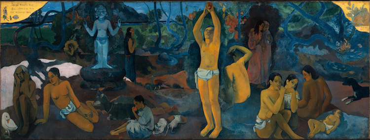 Paul Gauguin Paintings Post-Impressionism