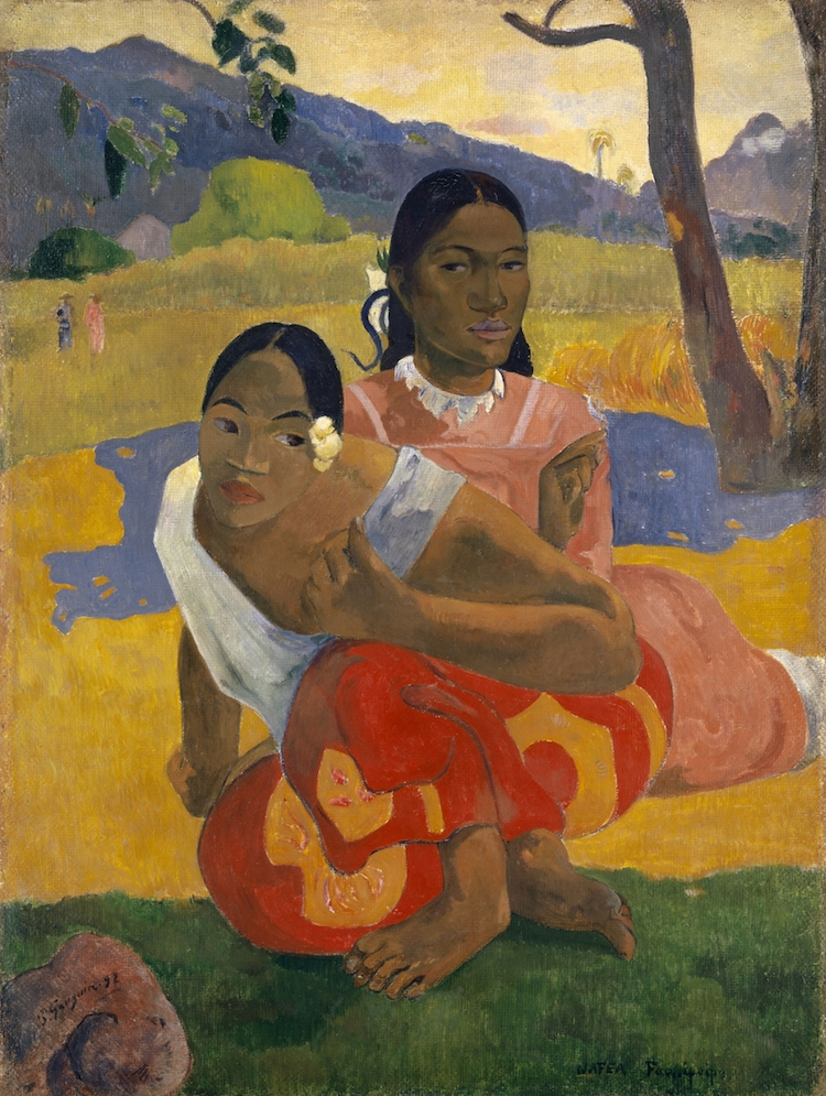 Paul Gauguin Paintings Post-Impressionism Paul Gauguin Tahiti