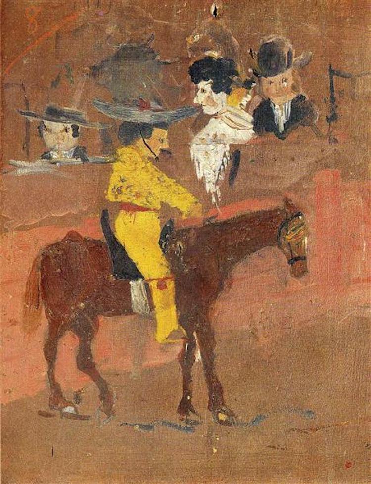 Primera pintura de Picasso