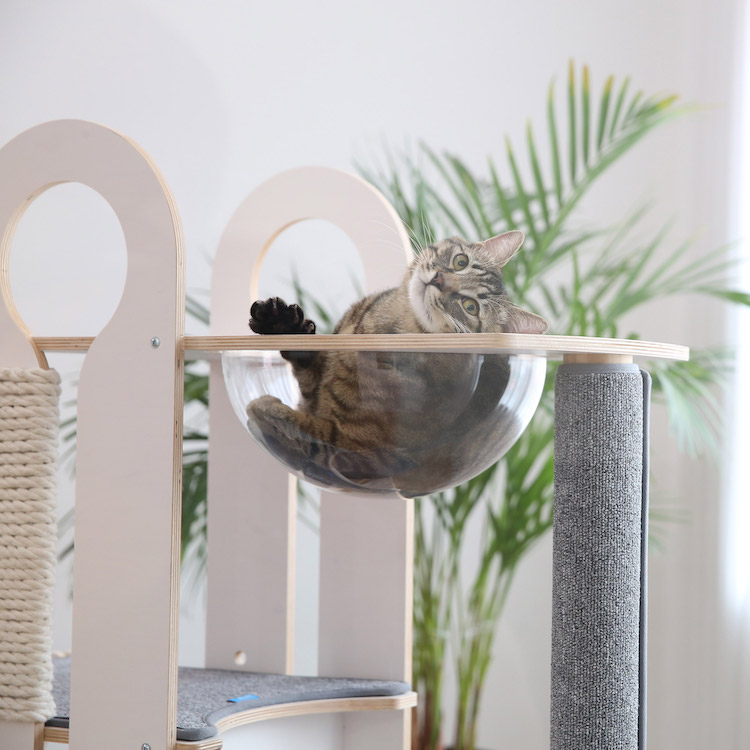 Modern Cat Tower Sold by Tuft + Paw