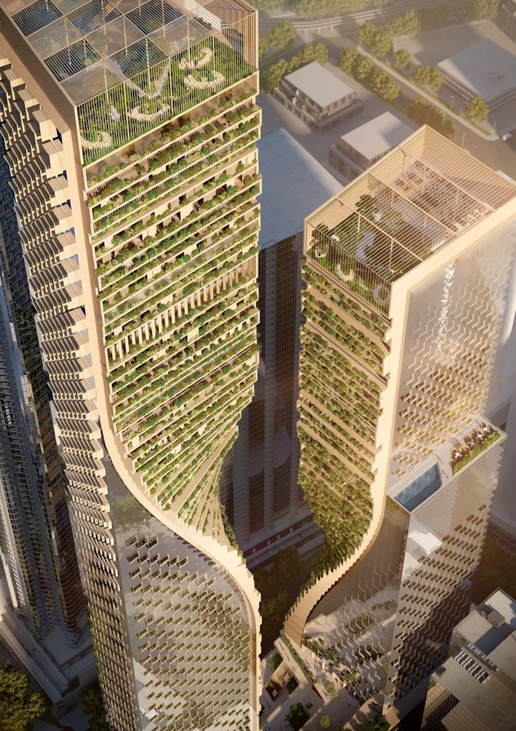 Australia's Tallest Building by UNStudio and Cox Architecture