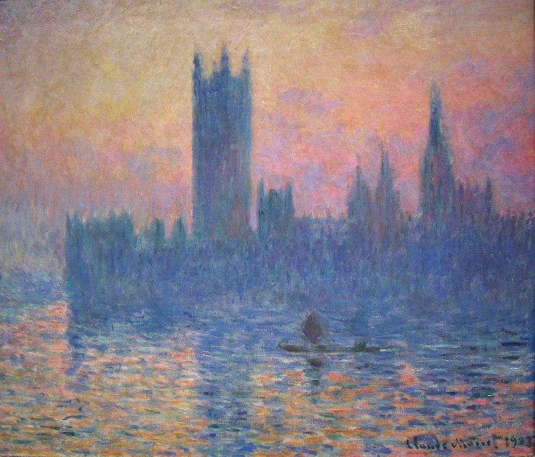 Settings of Famous Paintings Monet Houses of Parliament