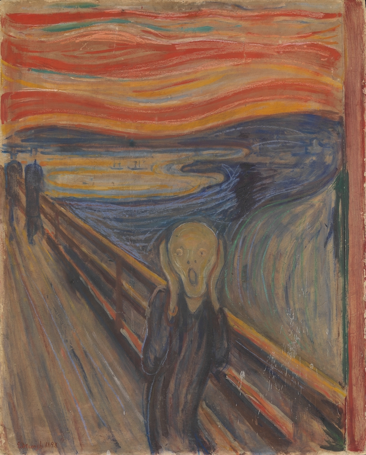Settings of Famous Paintings The Scream Edvard Munch