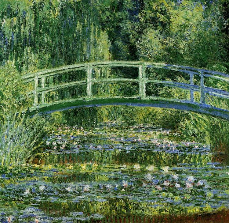 Settings of Famous Paintings Monet Giverny