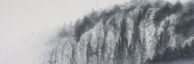 Waterfall Paintings by Hiroshi Senju