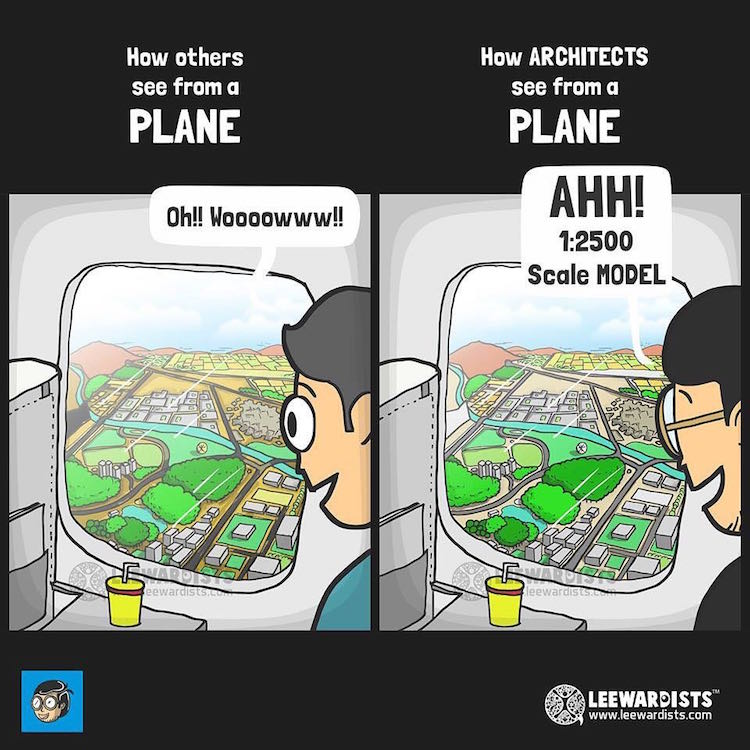 Webcomic Architects by Leewardists
