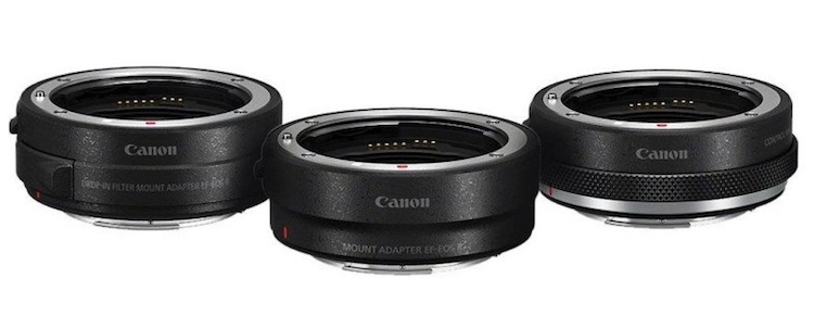 Canon RF Mount Adaptors