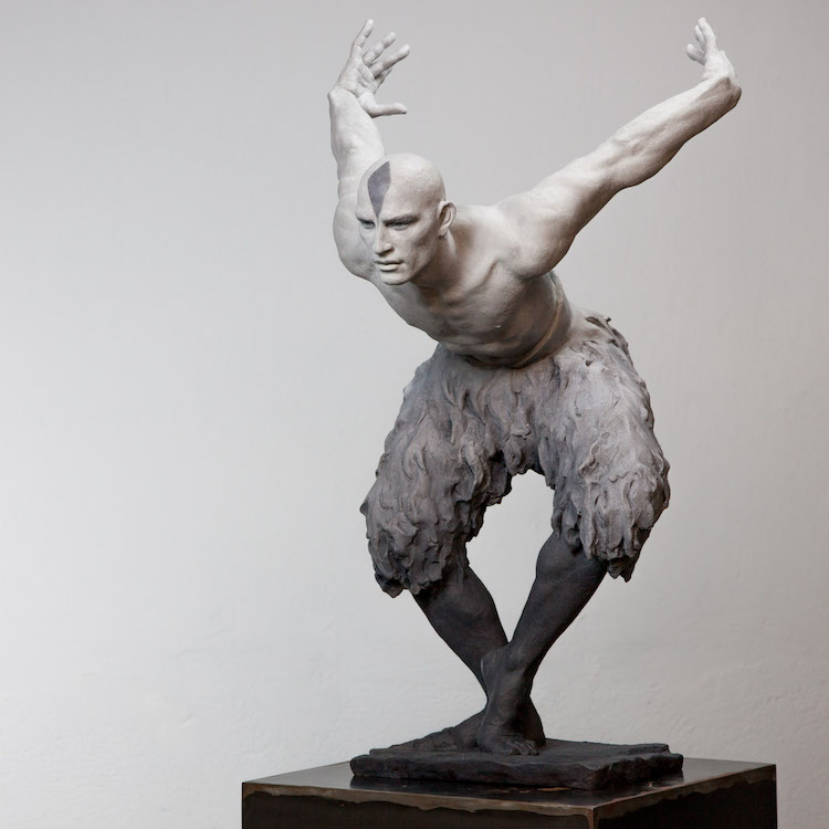 lifelike sculptures of the remarkable human form are modern day classics