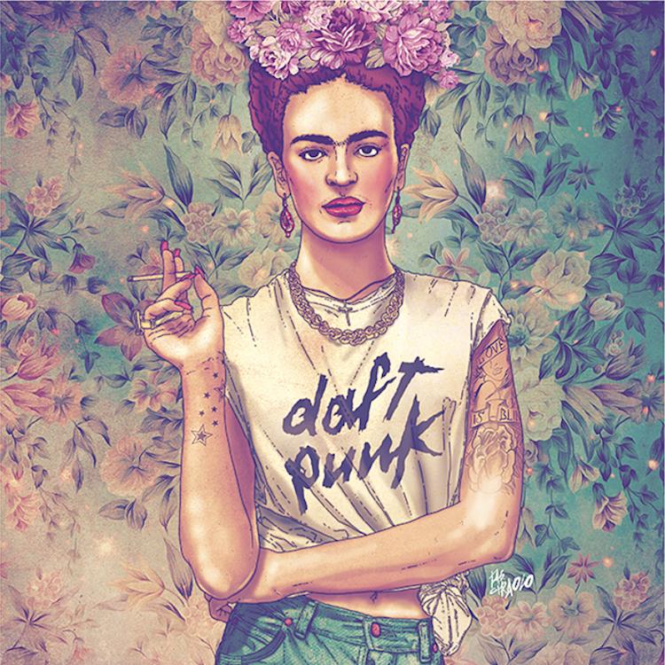 Regalos Inspirados en Frida Kahlo Frida Del Rey Fab Ciraolo