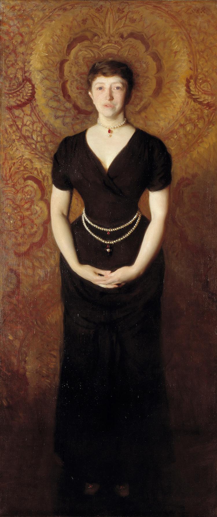 Isabella Stewart Gardner by John Singer Sargent
