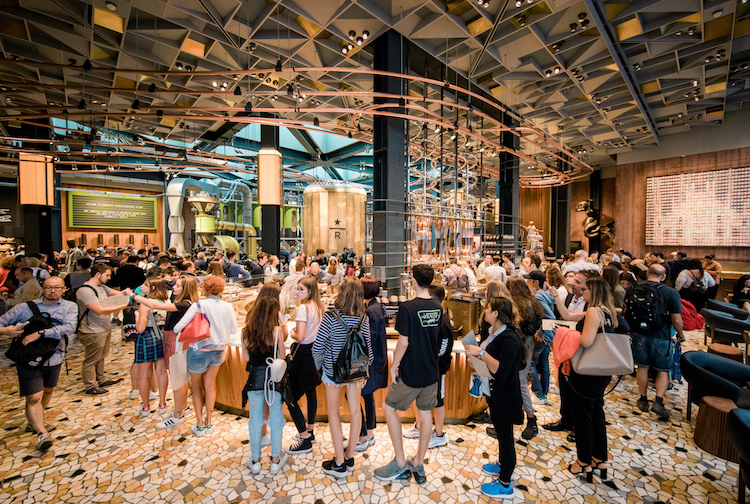 Starbucks Milan Opening