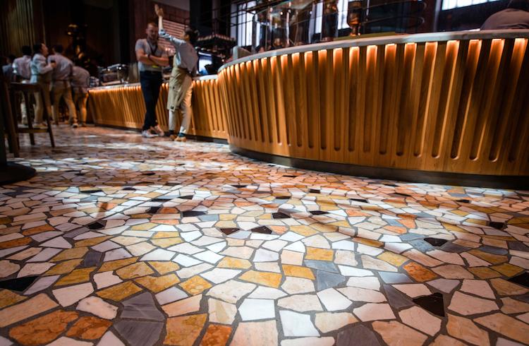 Starbucks Milan Interior
