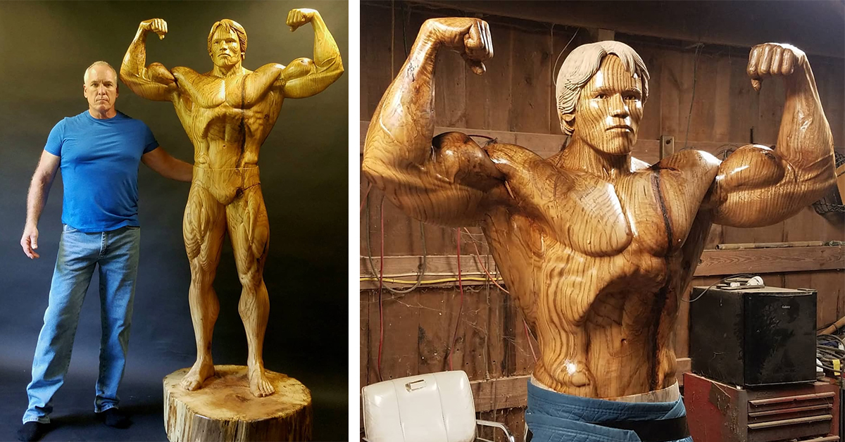 wood carving artist crafts life