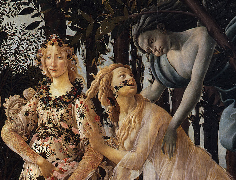 Image result for Botticelli primavera