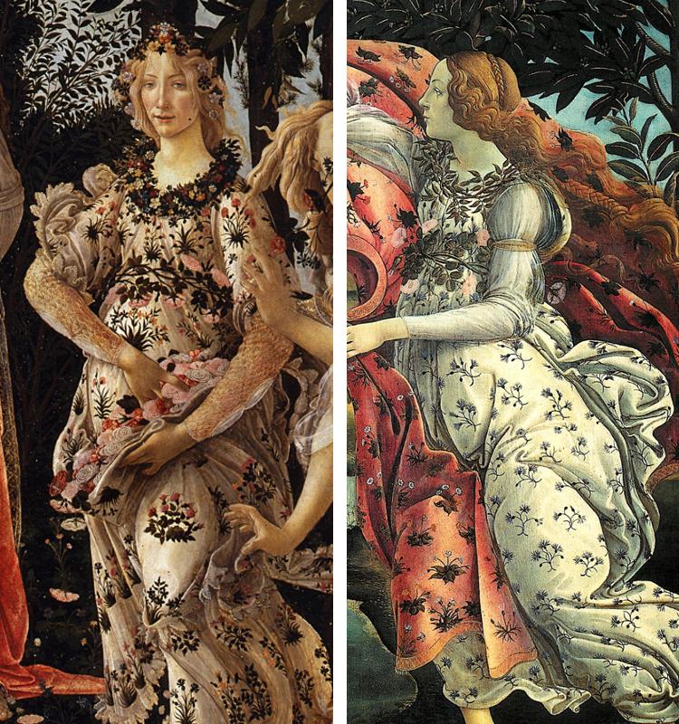 Botticelli Primavera Botticelli Paintings Italian Renaissance Art