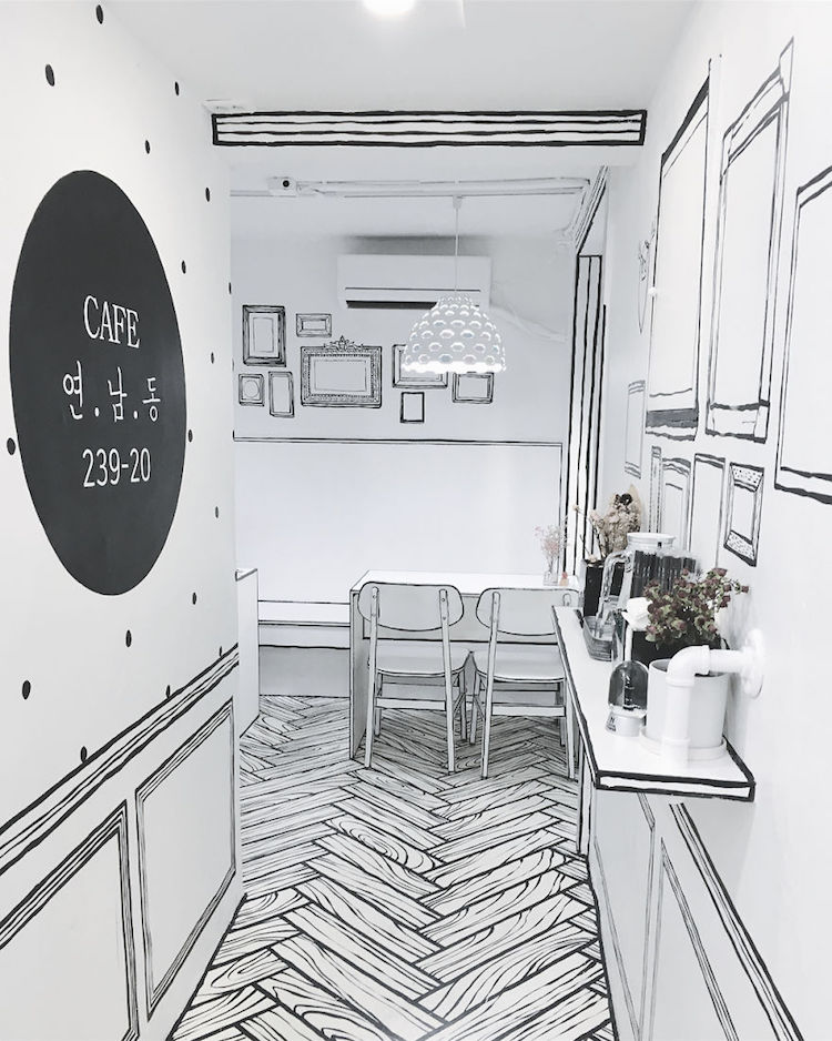 Incredible South Korean Coffee Shop Looks Just Like a