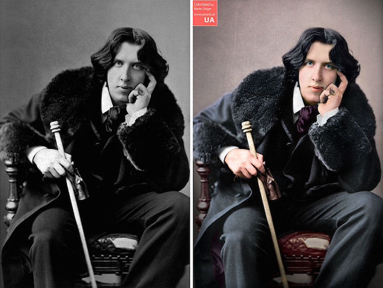 Colorized Black and White Photos by Mario Unger