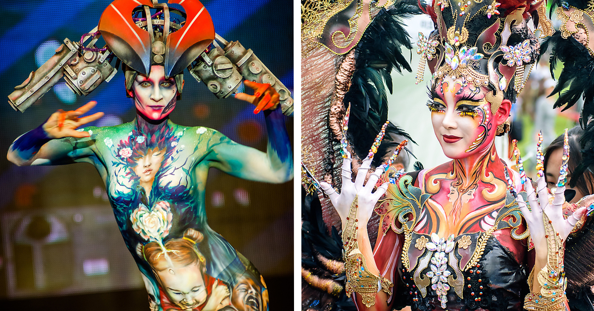 10 Amazing Photos Of The 2018 Daegu International Bodypainting Festival