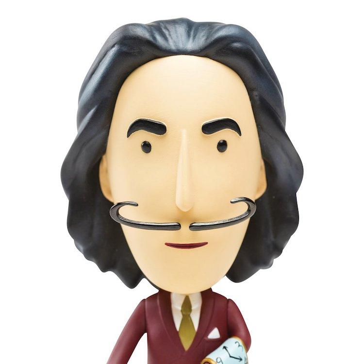 Salvador Dali Action Figure Dali Mustache