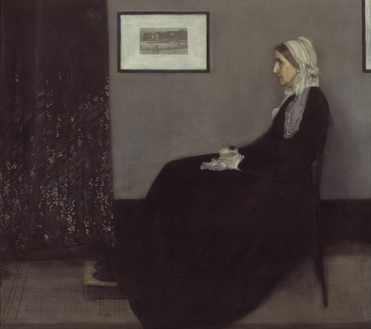 Famous Portraits in Art History Whistler's Mother