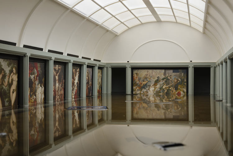 Breaking News The Flooding of the Louvre Flooding Tezi Gabunia