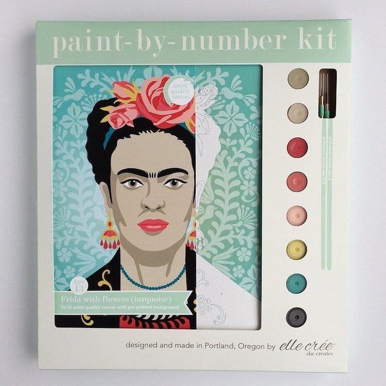 Frida Kahlo Paint by Number