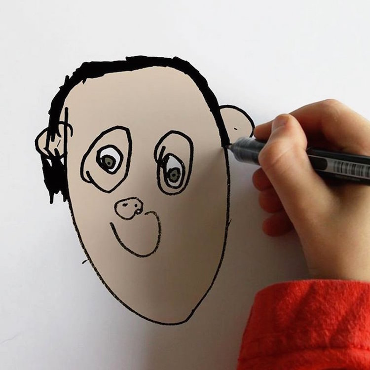 Funny Kids' Drawings Digital Art Things I have Drawn