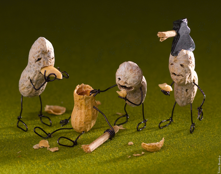 Funny Wire Sculptures Interview Terry Border