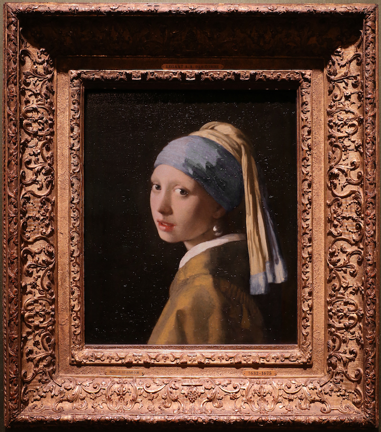 Girl with a Pearl Earring Painting Vermeer
