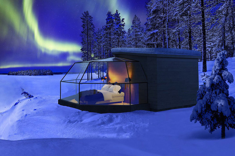 Luxury Glass Igloos by Arctic Fox Igloos