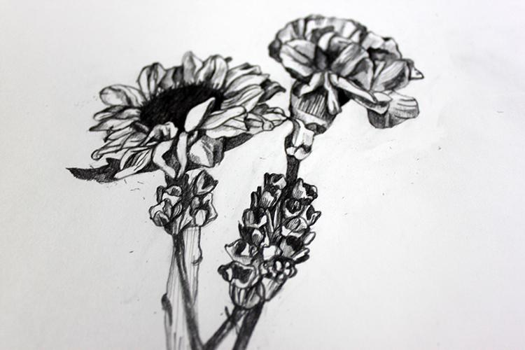 Cómo dibujar una flor